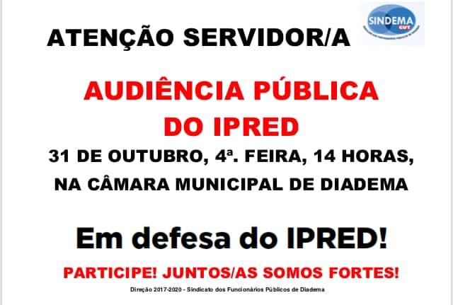 Audiência Pública IPRED