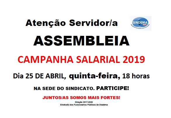 Assembleia 25-04-2019
