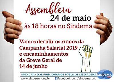 Assembleia  24 de maio de 2019