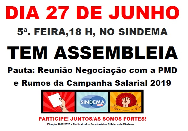 Assembleia Campanha Salarial 2019  27-06-2019