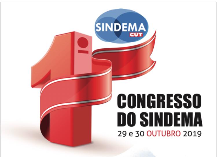 Vem ai o 1º Congresso do Sindema!