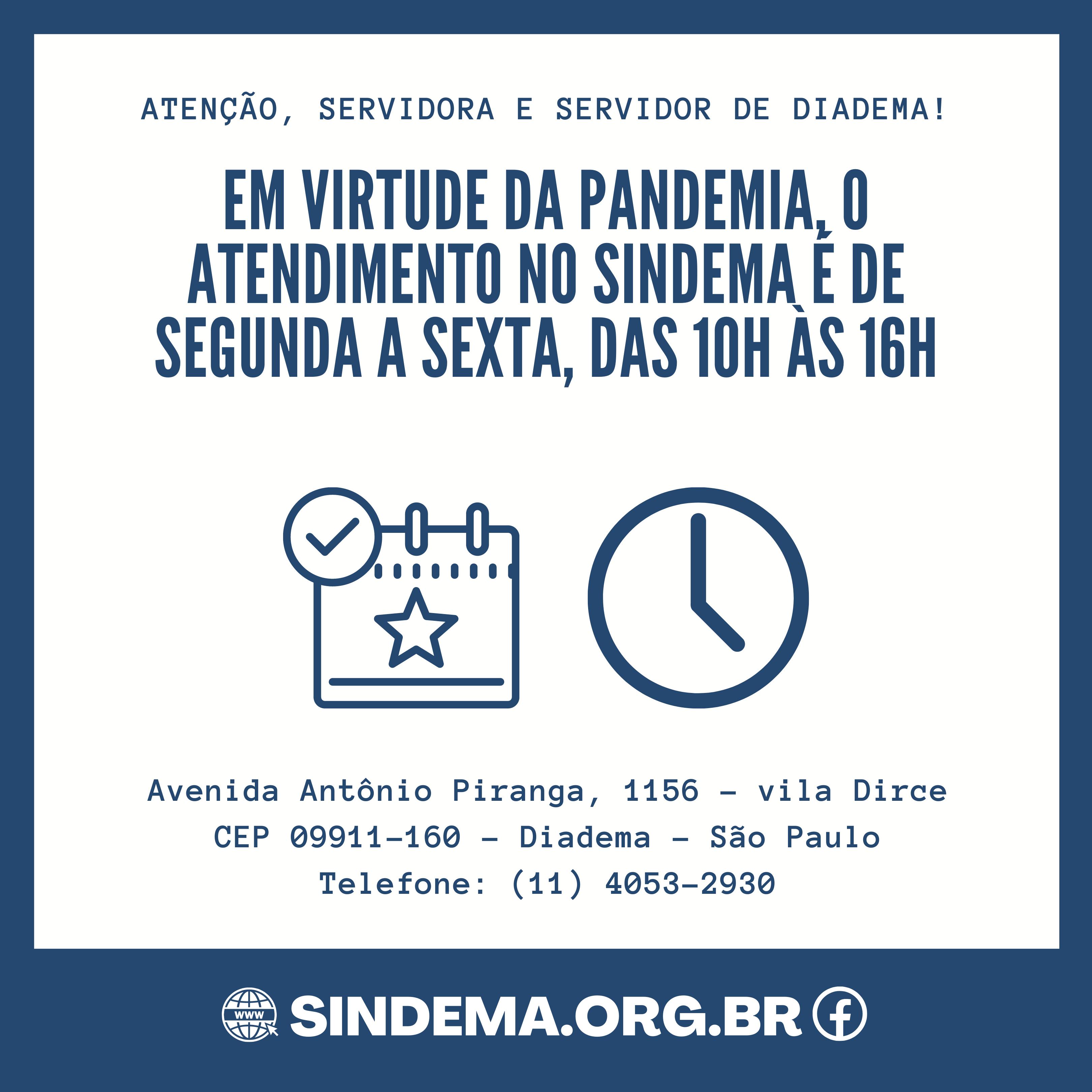 Funcionamento do Sindema.
