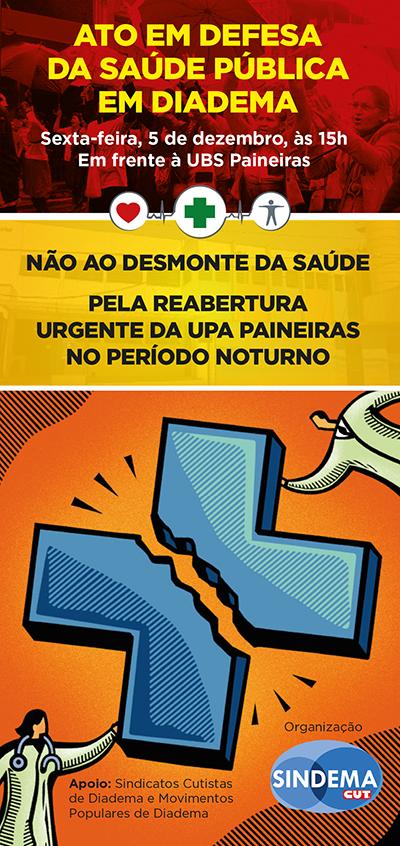Pela reabertura urgente da UPA Paineiras no período noturno