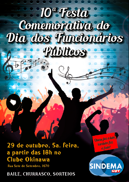 10a.  Festa Comemorativa do Dia dos Funcionários Public os de Diadema