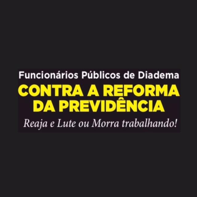 Contra a Reforma da Previdência!