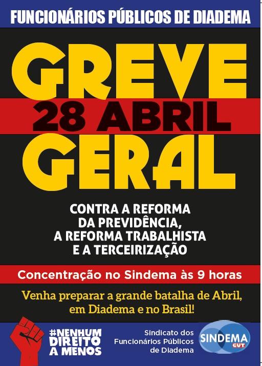 Greve Geral 28-04-2017